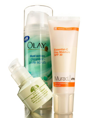 beauty products to treat sun spots