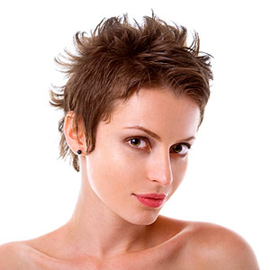 Artfully Mussed Pixie Cut