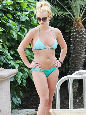 Britney Spears in bikini