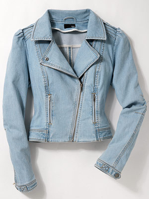 H&M Everyday Moto denim jacket