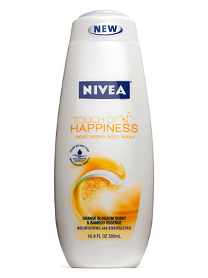 Nivea A Touch of Happiness Moisturizing Body Wash