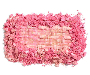 Chanel Blush Duo Tweed Effect in Tweed Pink