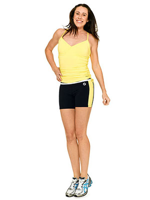 workout clothes for rectangle shapes