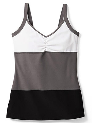 Xersion by JCPenney stripe tank