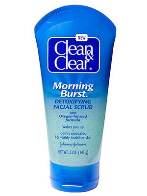 """Clean & Clear Morning Burst Detoxifying Facial Scrub"""