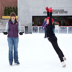 Jenna Wolfe ice skating