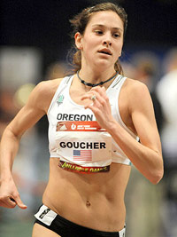 Kara Goucher running