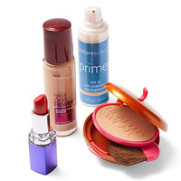 makeup with SPF