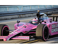 Sarah Fisher's car