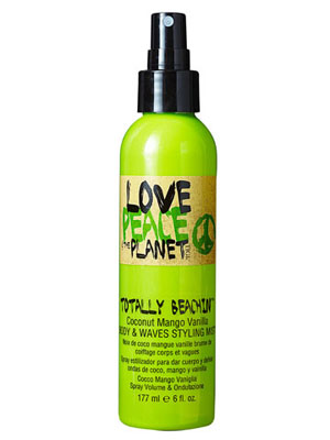 Tigi Love, Peace & the Planet Totally Beachin? Body & Waves Styling Mist