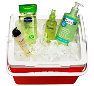 cooling beauty products