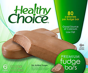 Healthy Choice Premium Fudge Bars