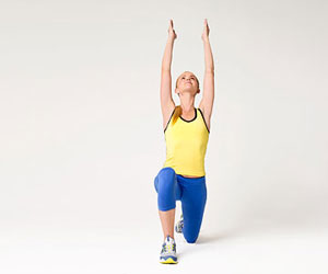 Low Lunge stretch