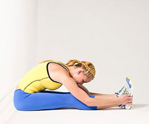 Lower back flexibility test