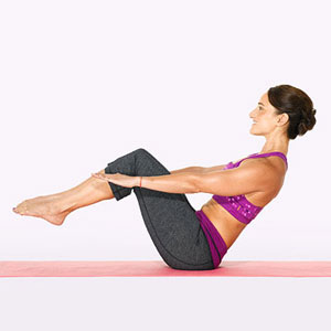Alternate V-Sit Roll A