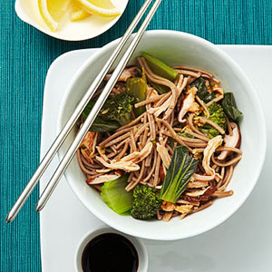 Chicken Soba Bowl