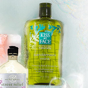 Kiss My Face Cardamom Mint Bath & Shower Gel