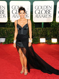 Halle Berry at Golden Globes
