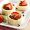 White Chocolate Mini Cheesecakes