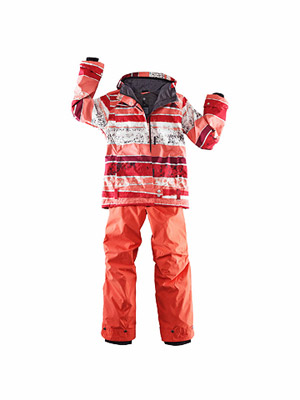 Roxy Electric jacket and Columbia Women's snow pants