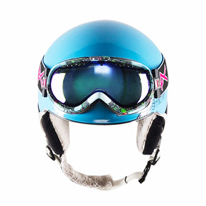 Smith Allure helmet and Anon Solace goggles