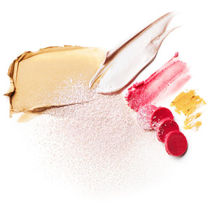Makeup for radiant skin