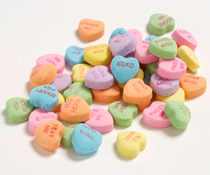 Conversation Heart candies