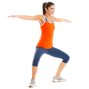 Plie Squat and Releve Combo A