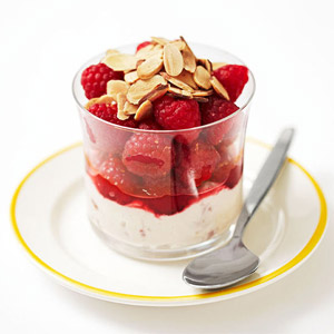 Lemon-Raspberry Fruit Salad