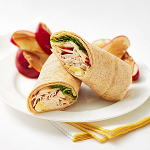 Dressed-Up Turkey Wrap