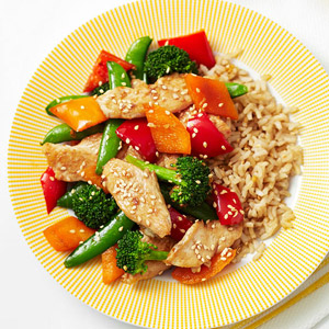 Double Sesame Chicken Stir-Fry