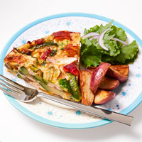 Frittata with Roasted Potaotes