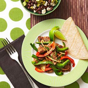 Beef Stir-Fry With Avocado Salad