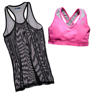 Tank top and sports bra