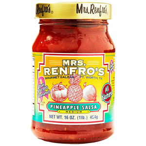 Mrs. Renfro Pineapple Salsa