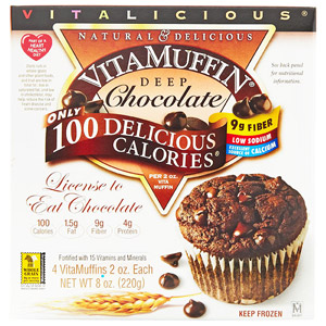 Deep Chocolate VitaMuffins