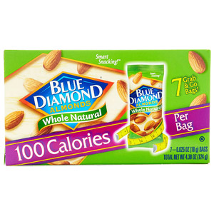 Blue Diamond Almonds 100 Calorie Packs