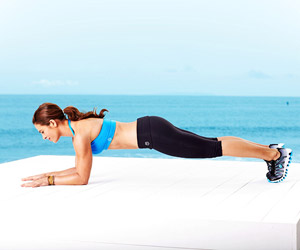 Jillian Michaels forearm press a
