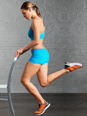 One-Legged Calf Squat