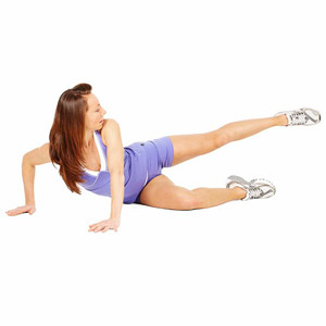 Saddlebag exercise