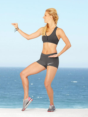 Heather Morris workout