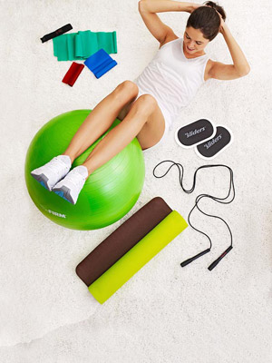 Basic fitness equipment