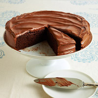 Old-Fashioned Fudge Cake