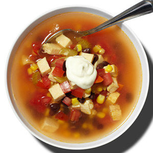 Spicy Southwestern Chicken Soup