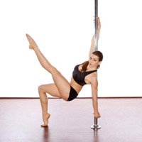 Crunch Pole-ography class