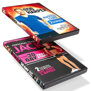 Jackie Warner and Bob Harper Workout DVDs