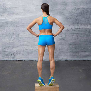 Calf Raise Three Ways exercise