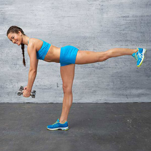 Single-Leg Dead Lift exercise