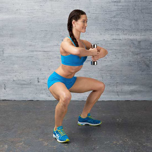 Goblet Squat exercise