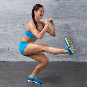Pistol Squat exercise